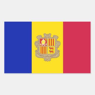Andorra/Andorran Flag Sticker