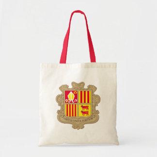 andorra arms budget tote bag
