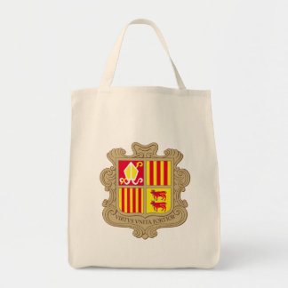 andorra arms grocery tote bag