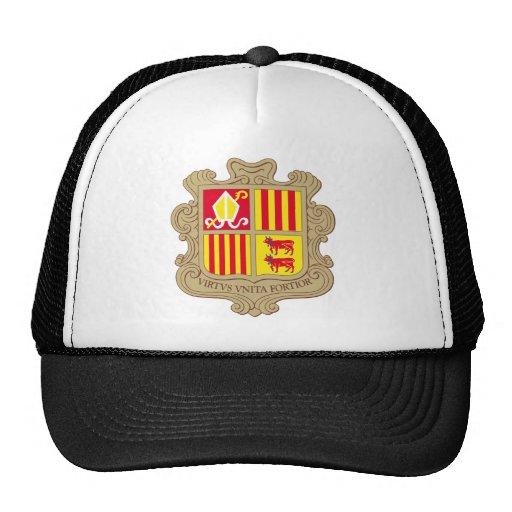 andorra arms mesh hat