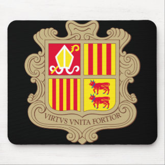 andorra arms mouse pad
