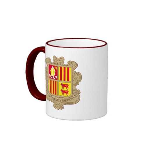 andorra arms coffee mug
