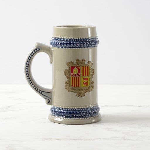 andorra arms mug