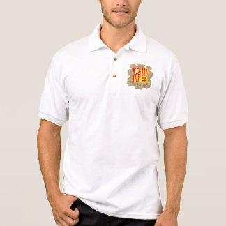 andorra arms polo t-shirt
