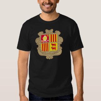 andorra arms t-shirts