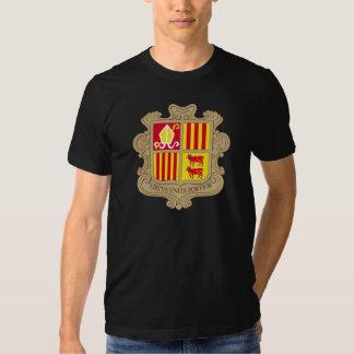 andorra arms tee shirts