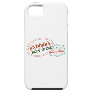 Andorra Been There Done That iPhone 5 Cover