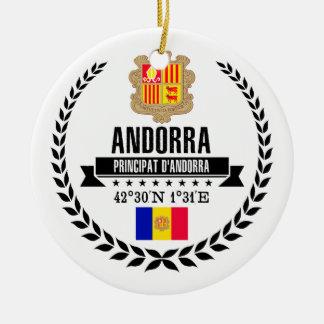 Andorra Ceramic Ornament