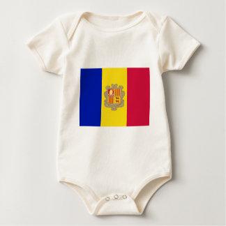 Andorra Flag Baby Bodysuit