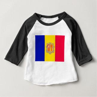 Andorra Flag Baby T-Shirt