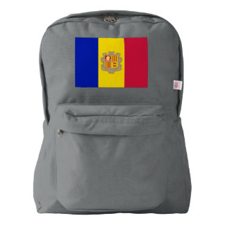 Andorra Flag Backpack