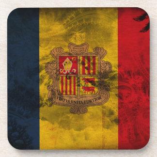 Andorra Flag Coaster