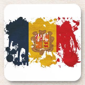 Andorra Flag Coasters