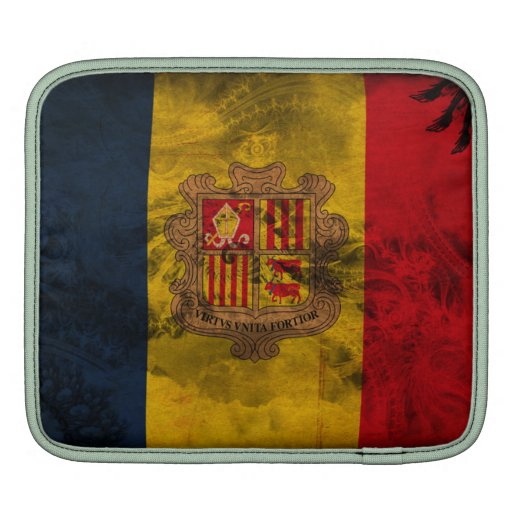 Andorra Flag iPad Sleeves