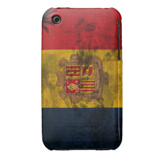 Andorra Flag iPhone 3 Case-Mate Case