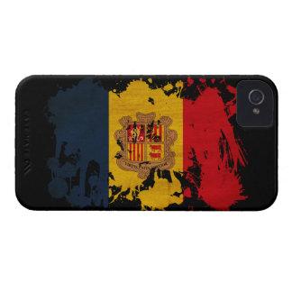 Andorra Flag iPhone 4 Case-Mate Case
