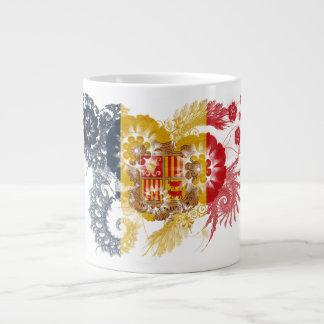 Andorra Flag Jumbo Mug