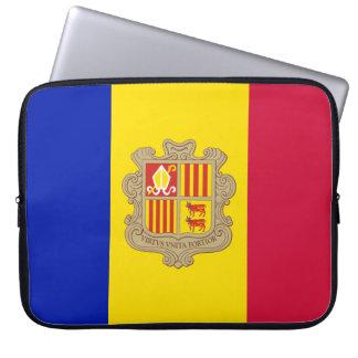 Andorra Flag Laptop Sleeve