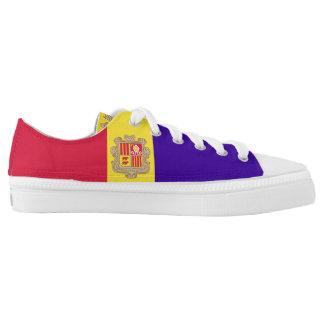 Andorra Flag Low-Top Sneakers