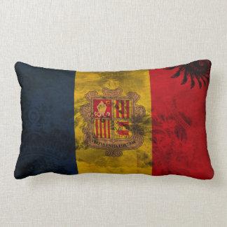 Andorra Flag Lumbar Pillow