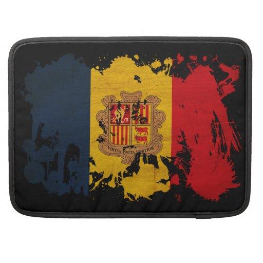 Andorra Flag MacBook Pro Sleeves