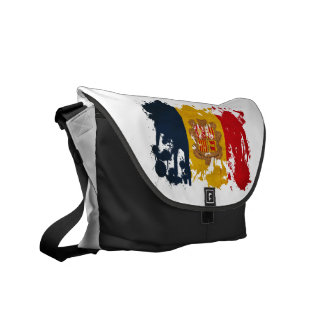 Andorra Flag Courier Bags