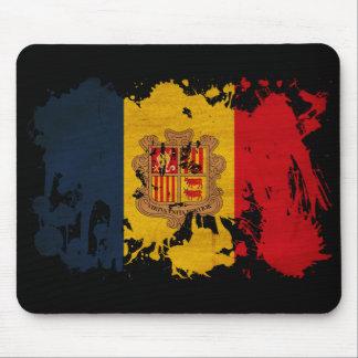 Andorra Flag Mouse Pad
