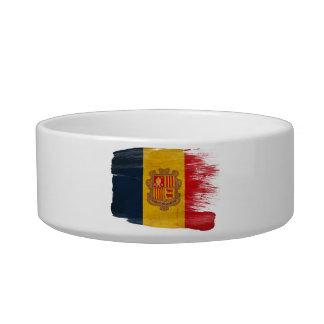 Andorra Flag Pet Bowl