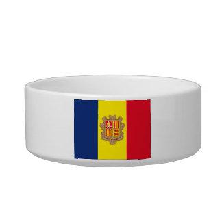 Andorra Flag Pet Bowls