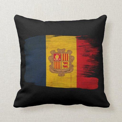 Andorra Flag Pillows