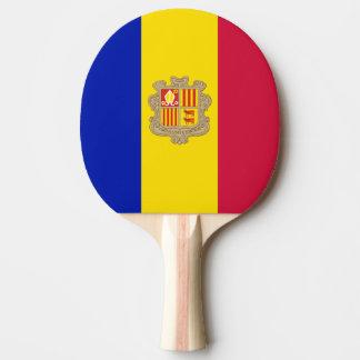 Andorra Flag Ping Pong Paddle