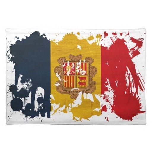 Andorra Flag Place Mats