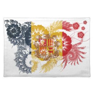 Andorra Flag Placemat
