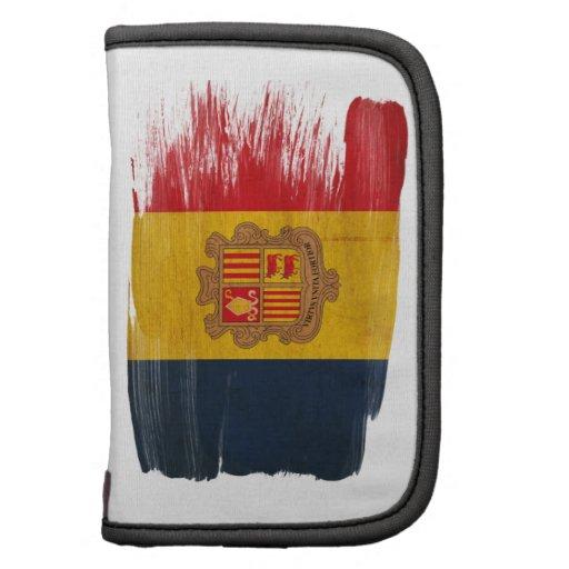Andorra Flag Folio Planner