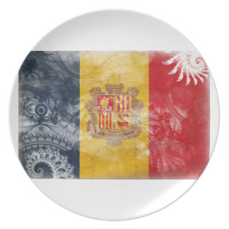 Andorra Flag Plates