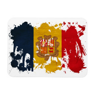 Andorra Flag Rectangular Photo Magnet