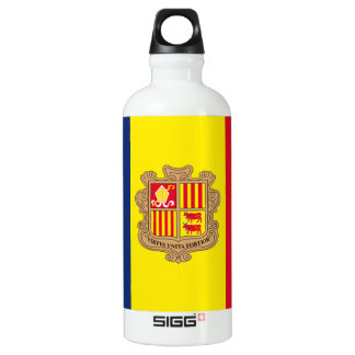 Andorra Flag SIGG Traveler 0.6L Water Bottle
