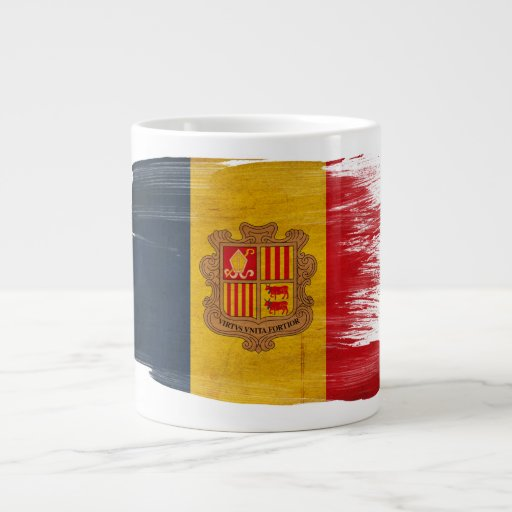 Andorra Flag Extra Large Mug