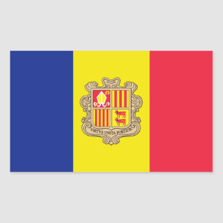 Andorra Flag Sticker
