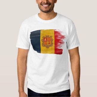 Andorra Flag T Shirt