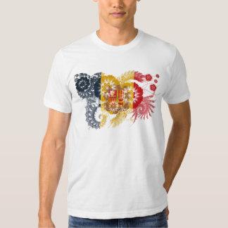 Andorra Flag T-shirts