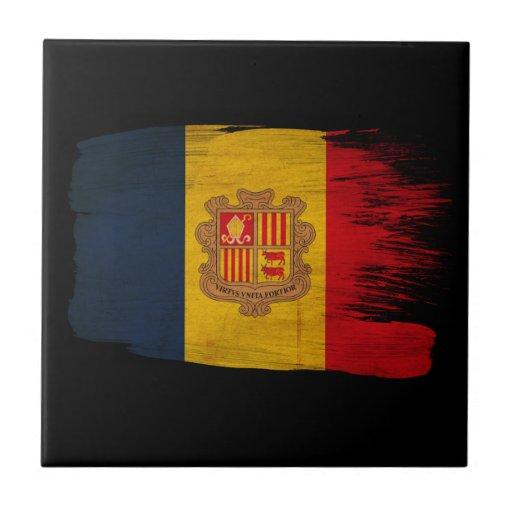 Andorra Flag Tile
