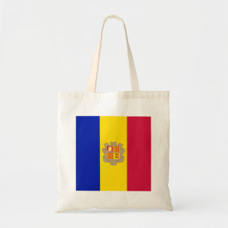 Andorra Flag Tote Bag