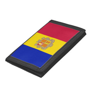 Andorra Flag Tri-fold Wallets