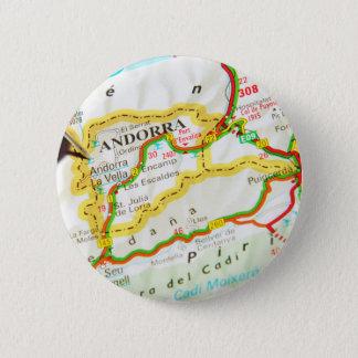Andorra la Vella, Andorra 2 Inch Round Button