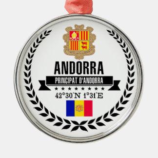 Andorra Metal Ornament