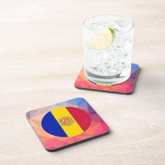 Andorra Souvenir Beverage Coasters