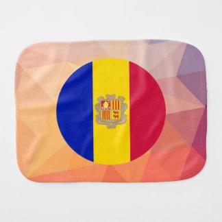 Andorra Souvenir Burp Cloth
