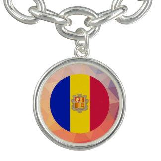Andorra Souvenir Charm Bracelets