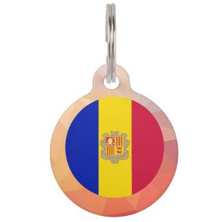 Andorra Souvenir Pet ID Tag